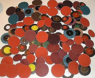 Massive assorted Pack of 3M Roloc grinding and buffing discs.