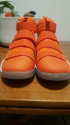 26ceeef6dbd8 Nike Lebron Soldier XI TB Promo Orange Basketball Mens Size 14 943155-805