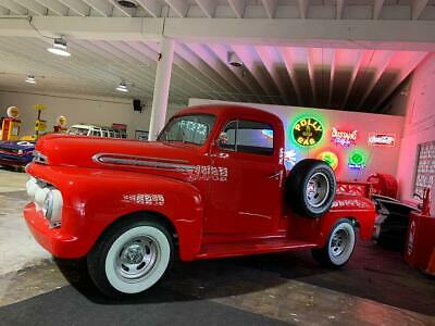 1951 F1 pickup Restored! SEE Video 1951 Ford F-1 Pickup Truck short bed not GMC Chevrolet 1953 1951 1955 1956