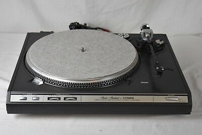 FISHER Model MT-6420 (C) Direct Drive Stereo Turntable Phono Player Japan Made