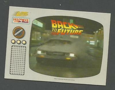 Back To The Future Card From Johnny Lightning Cars