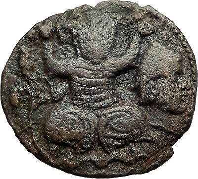 ISLAMIC Ancient ARTUQUIDS of MARDIN Medieval 1199AD Coin TURK holds HEAD i74611