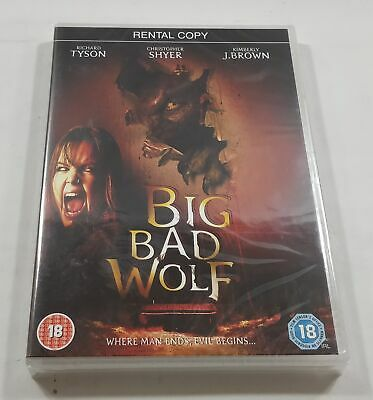 Big Bad Wolf DVD PAL Region 2 (Rental Copy) New Sealed - Free Delivery
