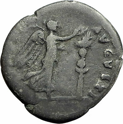VESPASIAN Judaea Capta Jewish War Type 72AD Ancient Silver Roman Coin i74614