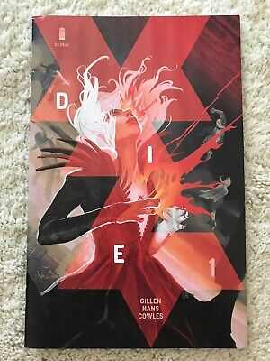 Die #1 Cover A Stephanie Hans Image Comic Book Sold Out First Print 2018 New
