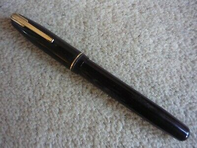 Vintage Waterman's Ideal Lever Fill Fountain Pen with Keyhole Waterman's Nib