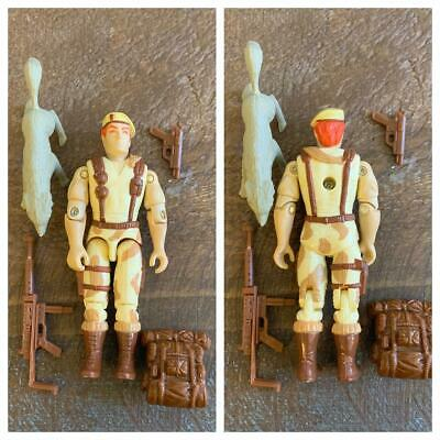 1991 Dusty V3 Brown Backpack Vintage GI Joe Accessory