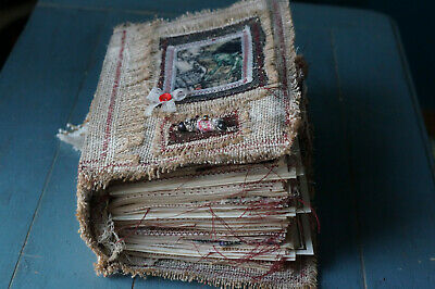 "OOAK Handmade vintage style ""Invisible Worlds"" Junk Journal/Book."