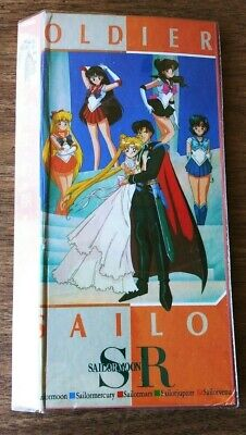 Pretty Soldier Sailor Moon Sr. 3 Inch Trading Card File/ Collectors Album.