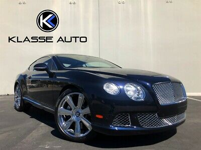 2012 Continental GT  2012 Bentley Continental GT W12 Coupe Low Miles Clean Carfax Chrome Wheels Wow
