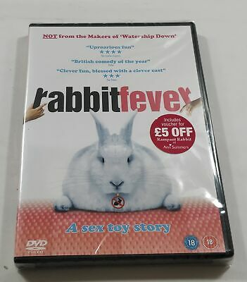 Rabbit Fever DVD PAL Region 2 New Sealed - Fast Free Delivery