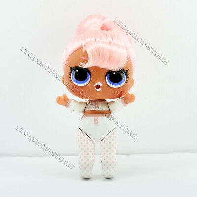 L.O.L. LOL Surprise! Girl Doll Figure Snow Bunny Pink HairGoals (No Accessory)
