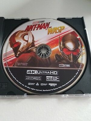 Marvel Ant Man And The Wasp 4K UHD Blu-ray *DISK ONLY* SEE DESCRIPTION