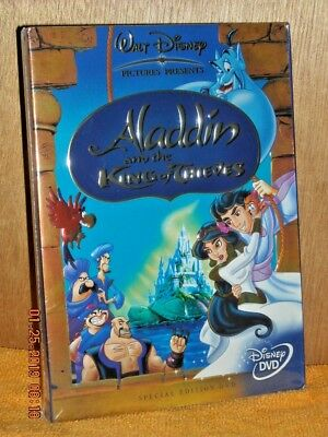 Aladdin and the King of Thieves (DVD, 2005) Robin Williams DISNEY slipcover NEW