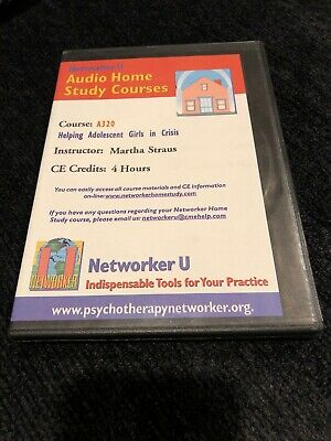 Helping Adolescent Girls In Crisis A320 Networker U Audio Home Study Courses 4CD