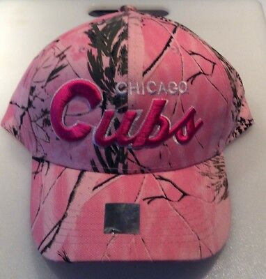 best website 33848 29121 New Womens Chicago Cubs  47 MLB Clean Up Pink Strapback Adjustable Cap Hat!   17.95 Buy It Now 2d 4h. See Details. Chicago Cubs Pink CAMO Embroidered Hat  ...
