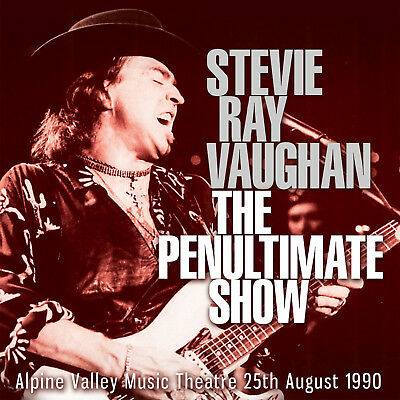 STEVIE RAY VAUGHAN New Sealed 2019 UNRELEASED LIVE 199O WISCONSIN CONCERT CD