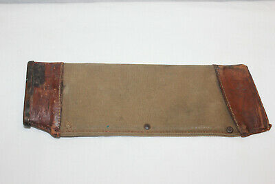 WWI USMC Collins No. 1001 Entrenching Machete Sheath Only Must L@@K