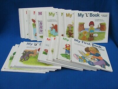 My First Book - My First Steps to Reading 25 Book Set by Jane Belk Moncure