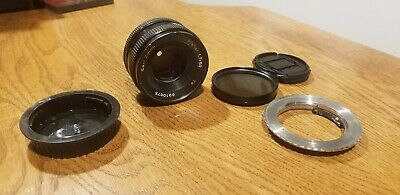 Carl Zeiss 50mm f1.7 Planar T* (Contax/Yashica CY Mount) With canon adapter.