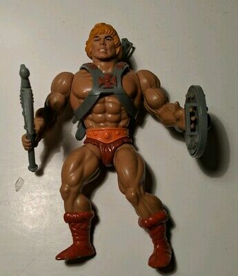 Vintage Original Masters Of The Universe He-Man Action Figure with Weapons