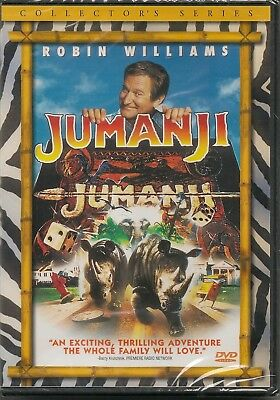 Jumanji - DVD - Collector's Series- Widescreen - Robin Williams - New and Sealed