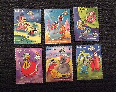 Redonda Block55 Unmounted Mint Never Hinged 1989 Walt-disney- complete Issue