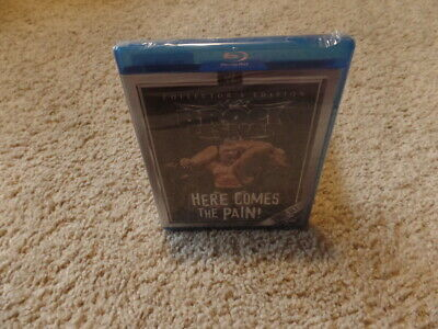 BROCK LESNAR HERE COMES THE PAIN! wwe BLU-RAY CUT UPC wrestling BRAND NEW