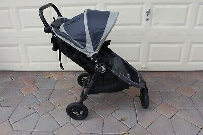 Baby Jogger City Mini Go GT Black /Grey Single Seat Stroller