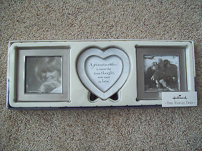 NEW Hallmark Family Tree Grandmother Frames with Easels -Set of 3- Perfect Gift!