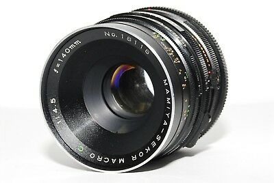 MAMIYA Sekor Macro C 140mm f/4.5 Lens for RB67 Pro S SD FROM JAPAN #177