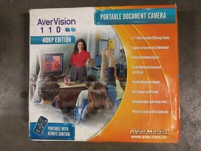 Avermedia Avervison 110 Portable Document Camera 410KP Edition