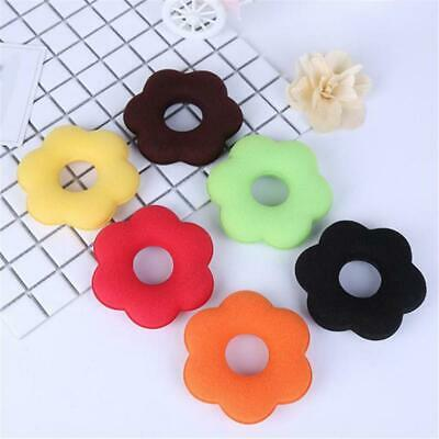 Women Girls Sponge Hair Bun Ring Donut Shape Hairband Styler Tool J