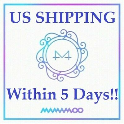 US SHIPPING Mamamoo-[White Wind] 9th Mini Album CD+Poster+Booklet+Card+etc+Gift