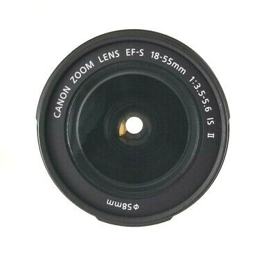 CANON ZOOM LENS EF-S 18-55mm 1:3.5-5.6 IS II Image Stabilizer DSLR