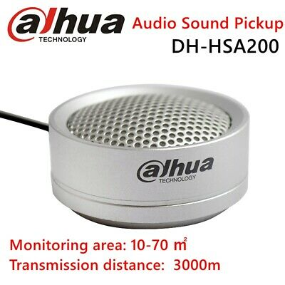 Dahua Audio Sound Pickup Surveillance Camera Monitoring Microphone Recorder