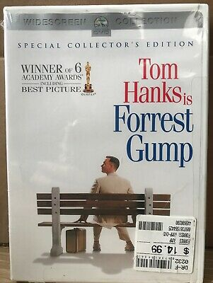 Forrest Gump Special Collector's Edition 2 Disc New Sealed FREE SHIPPING