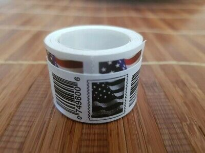 2017 Us Flag Usps Forever Stamps Roll/coil 100 First Class Postage