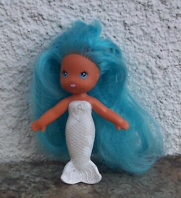 581fe9fea7c6 Vintage Kenner 1979 Sea Wees Mermaid Doll Camille Blue Hair White Body C.P.G