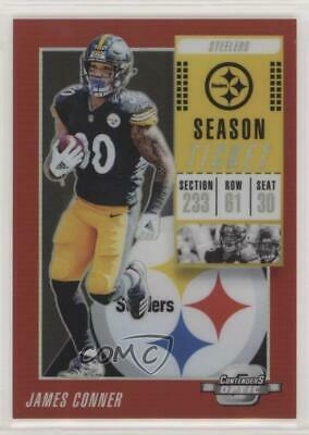 3ee015a7d4d 2018 Panini Contenders Optic Red  16 James Conner Pittsburgh Steelers Card