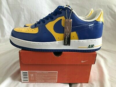 """the latest 573c6 d592a Nike Air Force One AF1 Premium """"Brazil World Cup"""" Size 11.0 2006 -pre"""