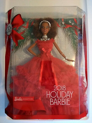 Barbie 2018 Holiday Signature Collector Doll African American Black Nikki NEW