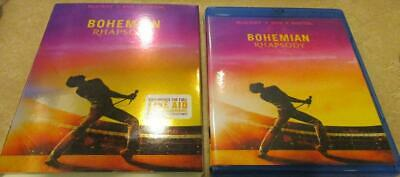Bohemian Rhapsody (Blu-ray, 2018) Single Disc + Cover Art NO CASE FAST SHIPPING