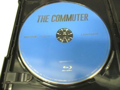 The Commuter (Blu-ray Disc, 2018) 1 Disc Only Never Viewed NO CASE