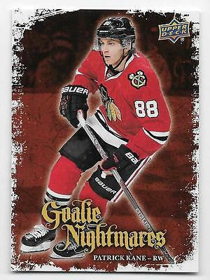 16/17 UPPER DECK SERIES 1 GOALIE NIGHTMARES Hockey (#GN1-GN30) U-Pick from List