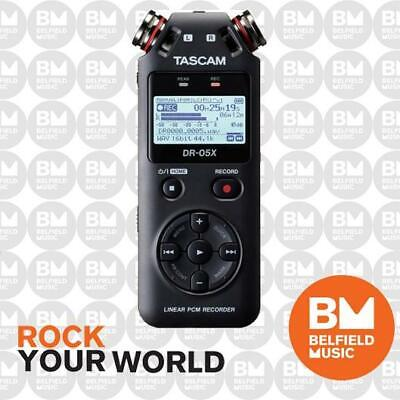 Tascam DR-05X Stereo Handheld Recorder & USB Audio Interface - Brand New