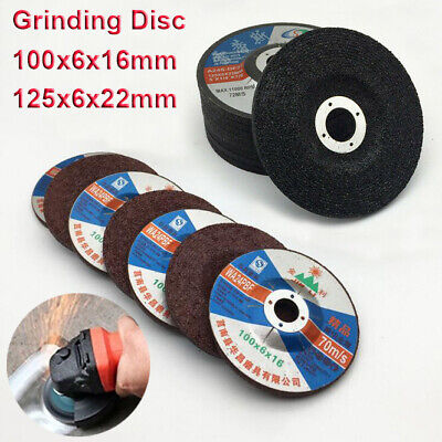 100mm/125mm Grinding Discs Wheels Metal Steel Angle Grinder Cutting Flap 4''/5''