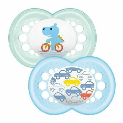 MAM Original Soother 12+ Months - Crocodile / Cars