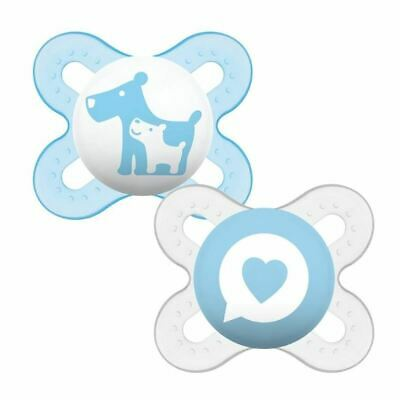 MAM Start Soother 0-2 Months Blue