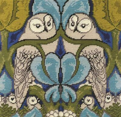 DMC Tapestry Kit - The Owl by CFA Vosey - V & A Museum Collection